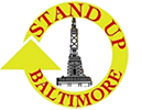 Stand Up Baltimore Retina Logo